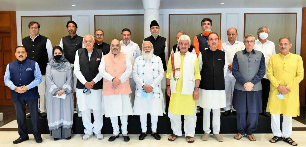 Shri Amit Shah attending the high level meeting