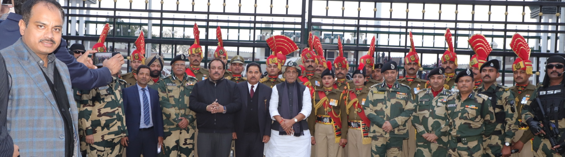 The Union Home Minister Shri Rajnath Singh launching the Emergency Response Support System (ERSS) for Himachal Pradesh at Mandi on November 28, 2018. The  Chief Minister of Himachal Pradesh, Shri Jai Ram Thakur is also seen.
