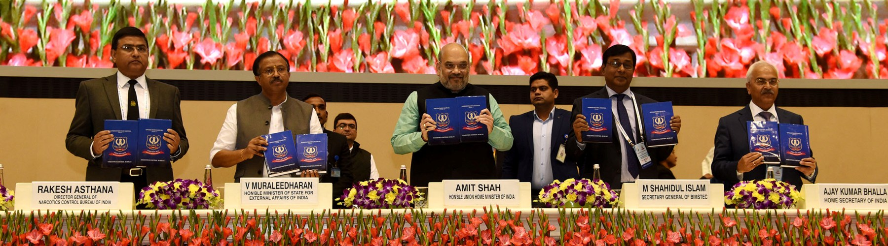 Union Minister for Home Affairs Shri Amit Shah inaugurated the two-day BIMSTEC Conference on Combating Drug Trafficking in New Delhi on February 13, 2020.