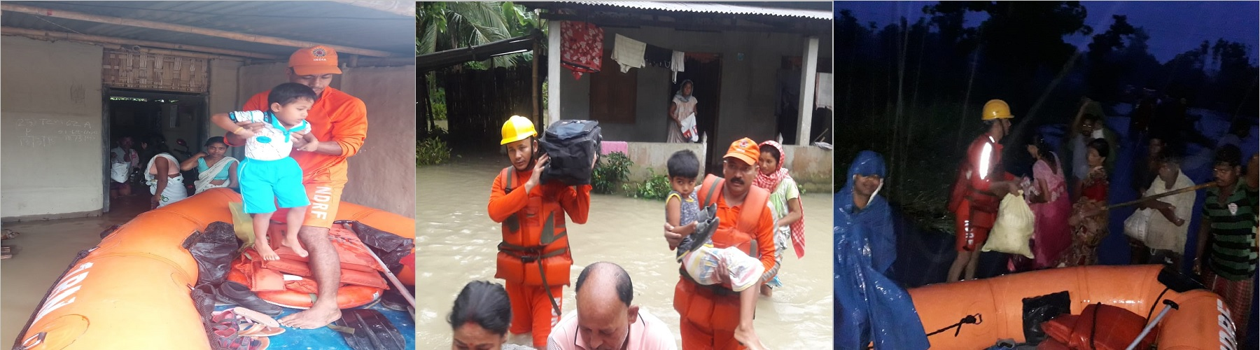 FLOOD RESCUE OPS IN REVENUE