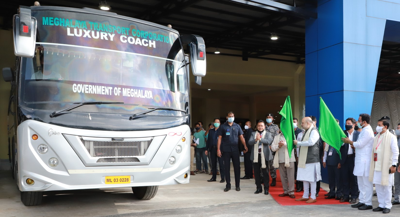 Inter-State Bus Terminus (ISBT) in Shillong,