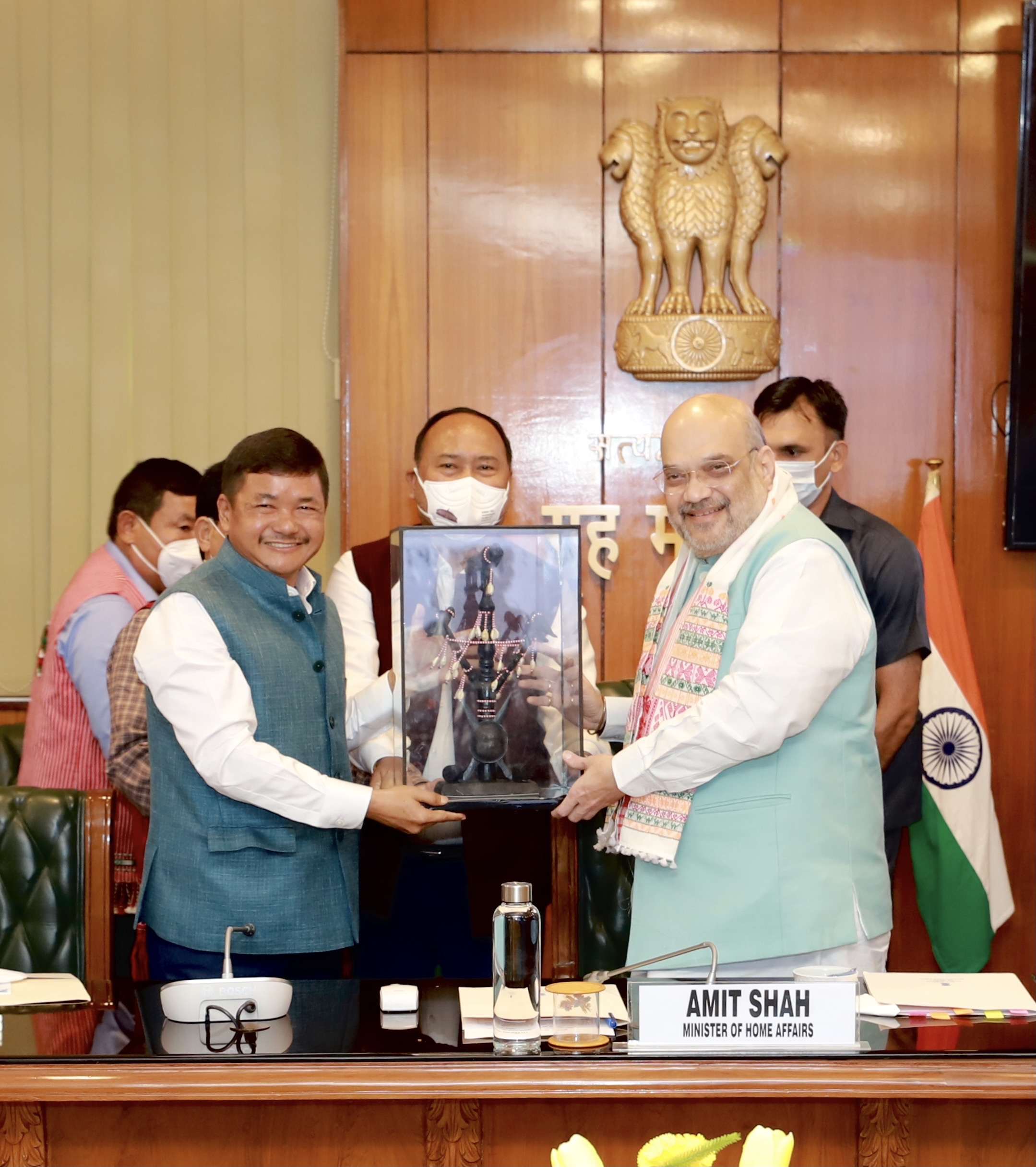 Historic Karbi Anglong Agreement to end the decades old crisis ensuring Assam's territorial integrity signed in presence of the Union Home Minister, Shri Amit Shah