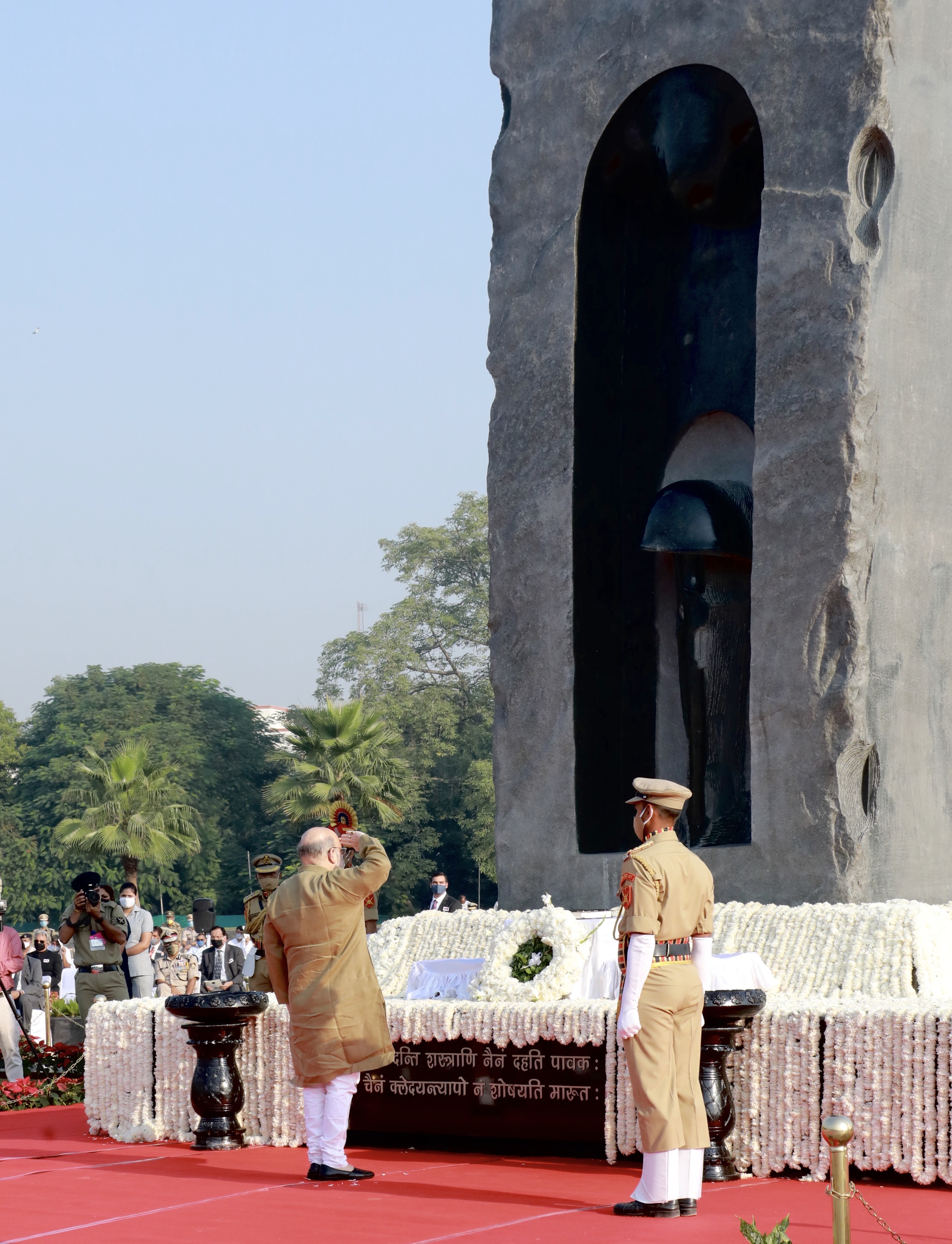 Shri Amit Shah during the Police Commemoration Day