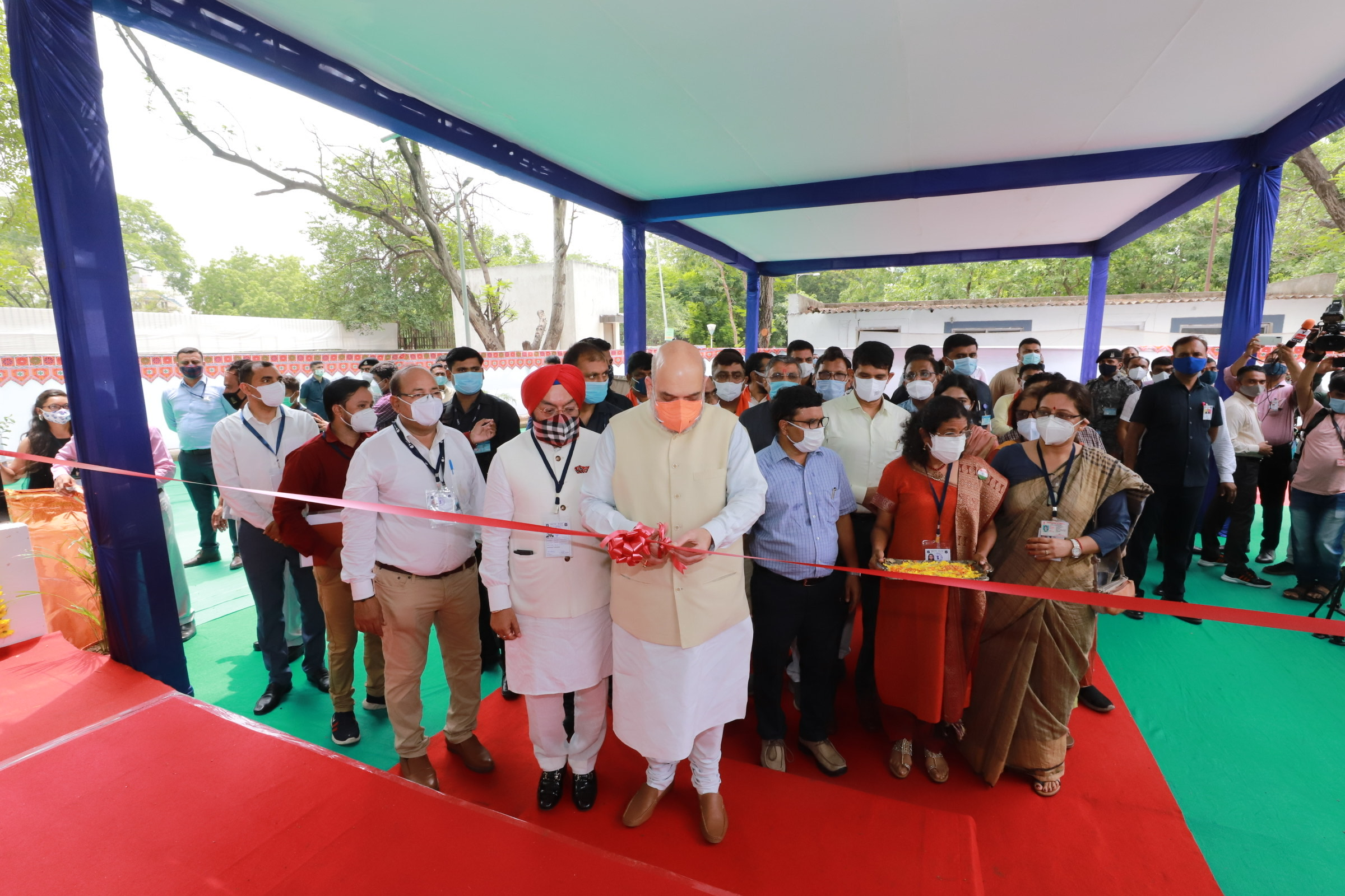 Inaugurating an Oxygen Plant by Sun Foundation