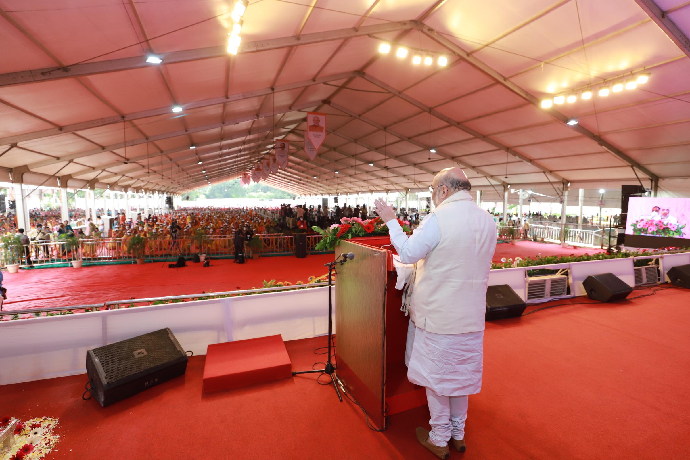 Shri Amit Shah launched Pradhan Mantri Ujjwala-2.0 Yojana today in Jabalpur, Madhya Pradesh