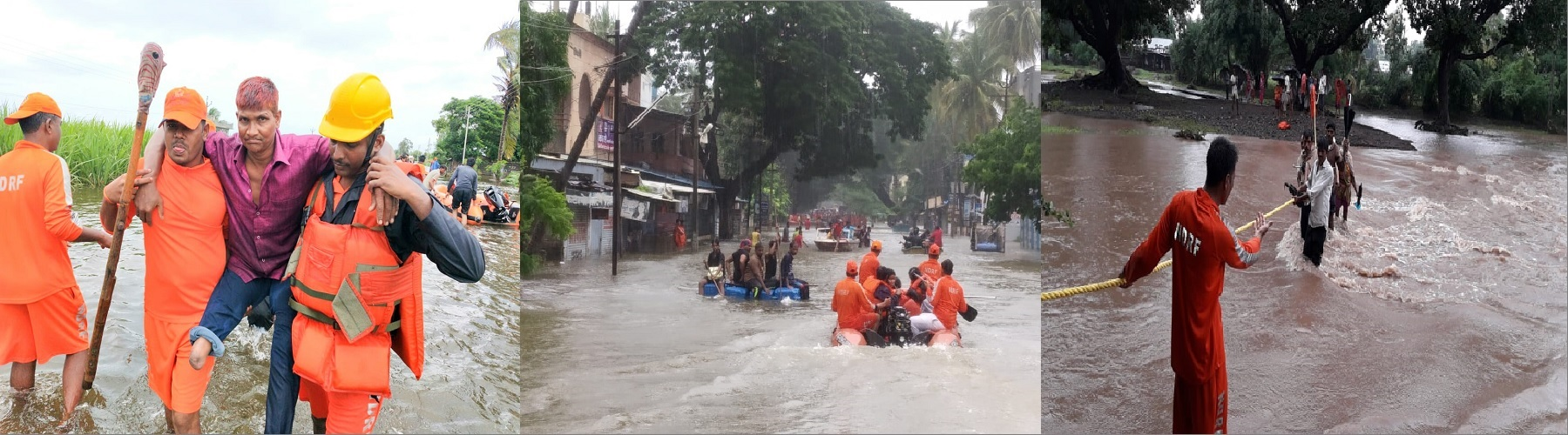 5375 PERSONS RESCUED AND MORE THAN 42,000 EVACUATED BY NDRF