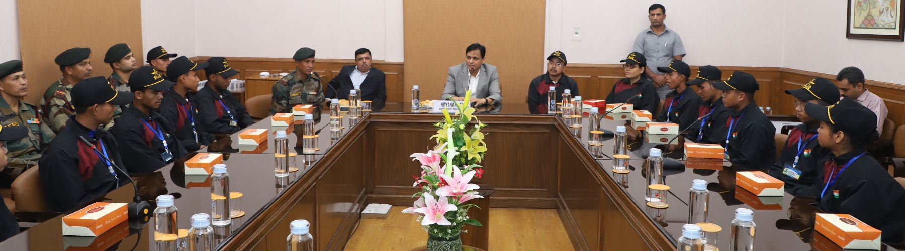 National Integration Tour - Students from Manipur