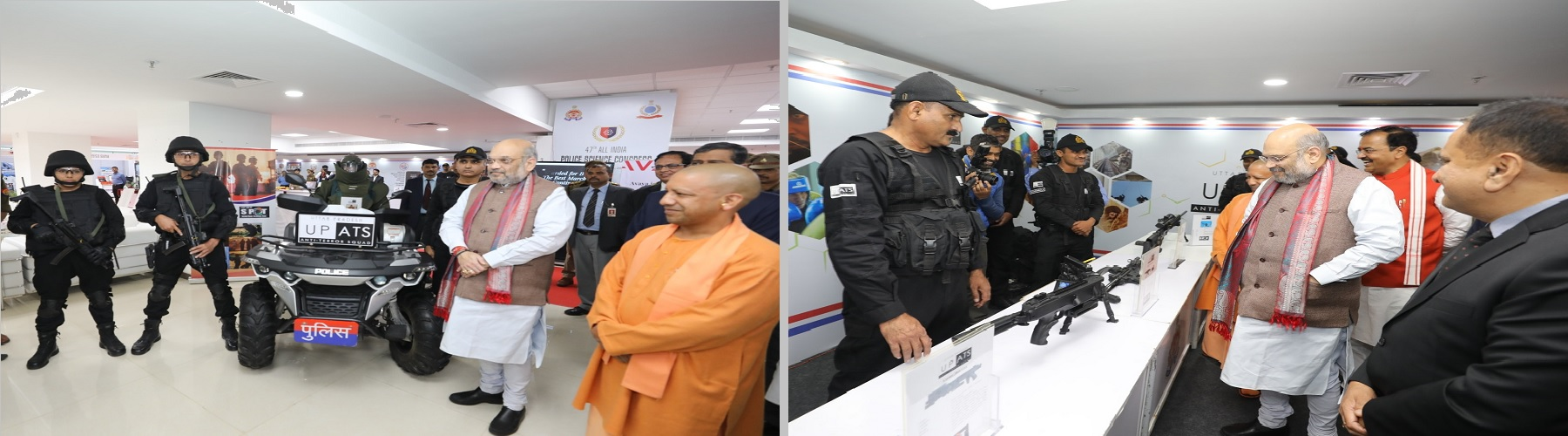 Union Minister for Home Affairs, Shri Amit Shah presided over the 47th All India Police Science Congress as Chief Guest, in Lucknow, on November 29, 2019.